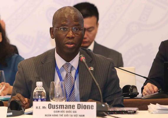 世界銀行駐越南首席代表奧斯曼‧迪奧