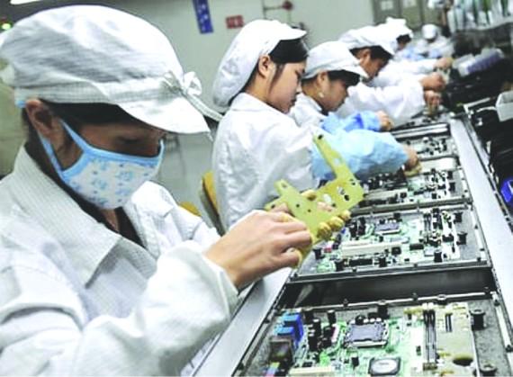 電腦晶片等零組件產品將受中美貿易戰影響。