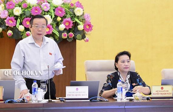 國會副主席馮國顯(圖源:QUOCHOI.VN)