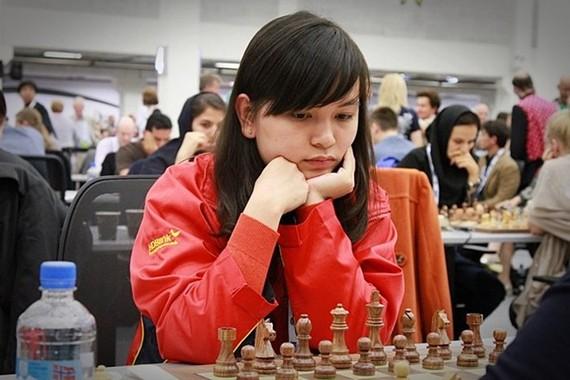 我國棋手阮氏梅興。