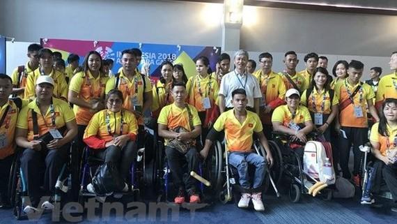 越南殘疾體育代表團。