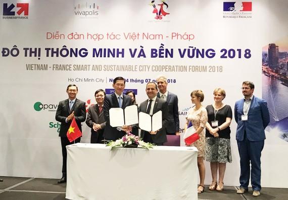 Diễn đàn hợp tác Việt Nam - Pháp 2018: Hướng đến xây dựng đô thị thông minh