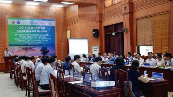 Buổi đối thoại liên tỉnh lần thứ 6 về công tác quản lý lưu vực sông Vu Gia – Thu Bồn và vùng bờ Quảng Nam – Đà Nẵng