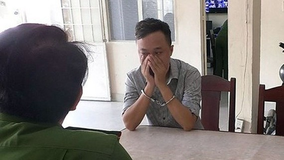 Ông Đỗ Lê Vũ tại cơ quan điều tra