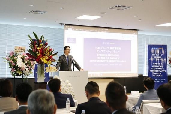 Nguyên Đại sứ đặc mệnh toàn quyền Nhật Bản tại Việt Nam – ông Norio Hattori giữ vai trò Trưởng đại diện Văn phòng đại diện Tập đoàn FLC tại Nhật Bản