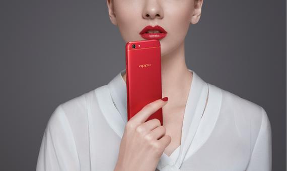 OPPO F3 phiên bản Đỏ đam mê được bán giớn hạn