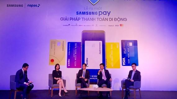 Giải pháp thanh toán di động Samsung Pay mang đến nhiều tiện lợi cho người dùng