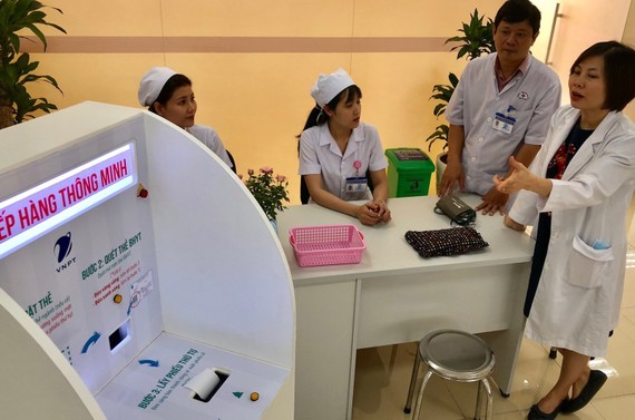 Giải pháp Quản lý bệnh viện của VNPT, các thủ tục khám bệnh sẽ đơn giản, nhanh chóng hơn