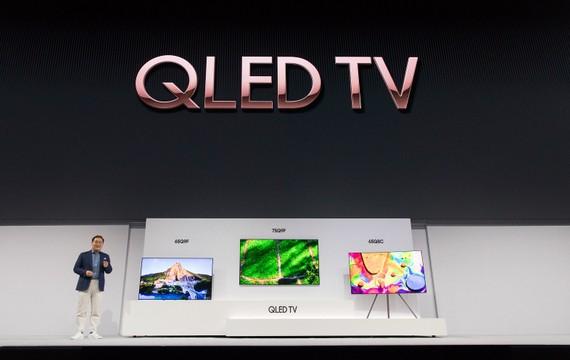 Samsung chính thức giới thiệu về các dòng sản phẩm TV 2018