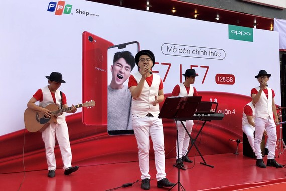 Mở bán OPPO F7 tạii FPT Shop