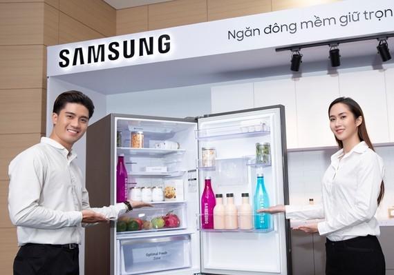 Tủ lạnh Samsung ngăn đá dưới hoàn toàn mới