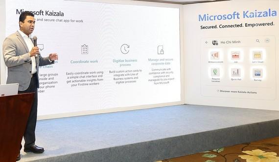 Microsoft Kaizala mang lại nhiều lợi ích cho daong nghiệp