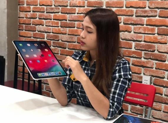 iPad Pro 2018 đã đến tay người dùng