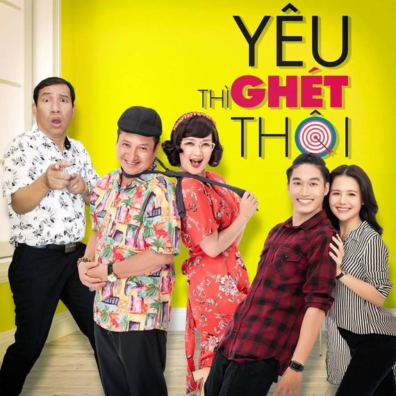 """Chí Trung, Vân Dung, Quang Thắng sẽ cùng xuất hiện trong seri phim """"Yêu thì ghét thôi"""""""