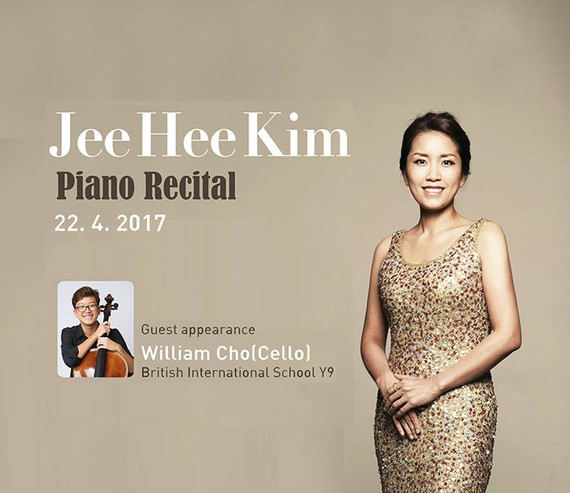 Korean pianist Kim Jee Hee performs in HMC City