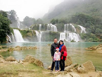 Ban Gioc waterfall (Photo: Sggp)