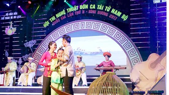 A performance of Don ca tai tu  (Photo: Sggp)