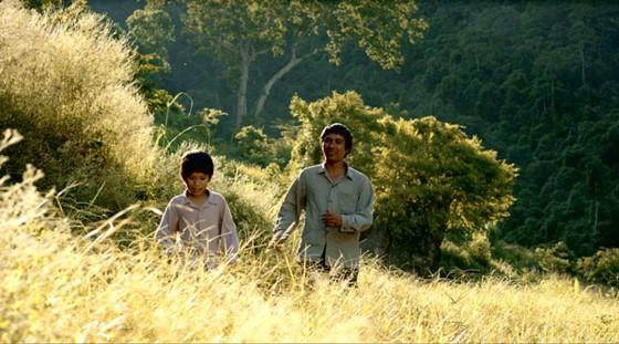 A scene in the film