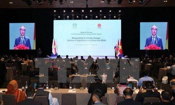 An overview of the IPU regional seminar (Source: VNA)