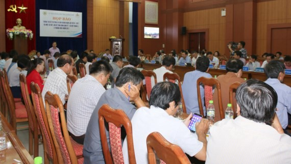 At the press conference of the 6th Quang Nam Heritage Festival  (Photo: Sggp)