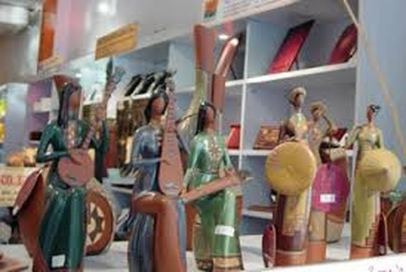 Vietnamese handicraft products (Photo: KK)