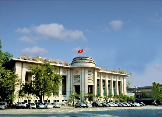 Headquarters of the State Bank of Vietnam in Hanoi (Photo: SBV)