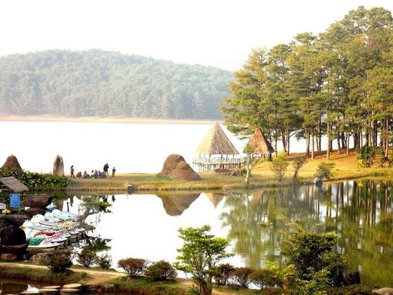 A corner of Golden Valley in Da Lat city (Photo: VNA)