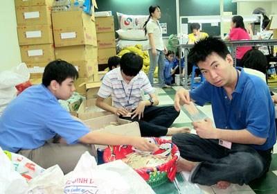 Vietnamese laborers in Japan (Photo: Sggp)