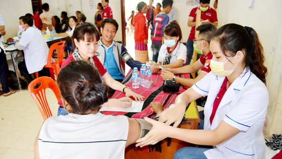 The program provides health care for 5,000 people;