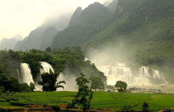 Ban Gioc Waterfall (Photo: VNA)