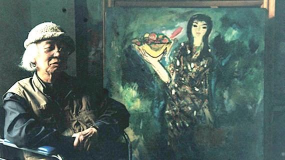 Painter Luu Cong Nhan and his artwork