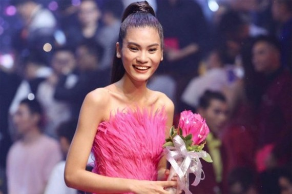 Kim Dung, winner of Vietnam's Next Top Model 2017