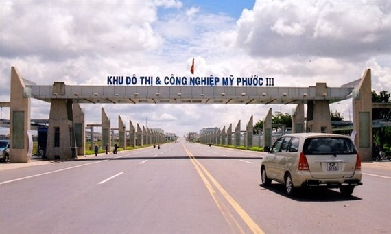 My Phuoc Industrial Park 3 in the southern province of Binh Duong. (Source: VNA)