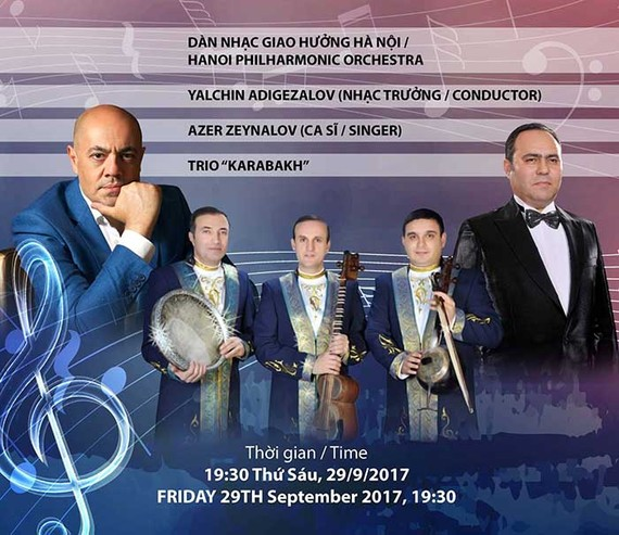 World-famous Azerbaijani conductor to perform in Hanoi