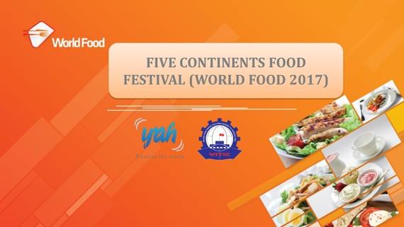 World Food 2017 to be held this week