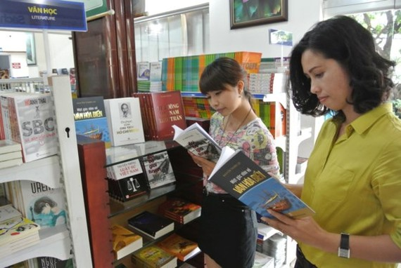 The good book week is expected to attract a large number of readers. (Photo: Sggp)