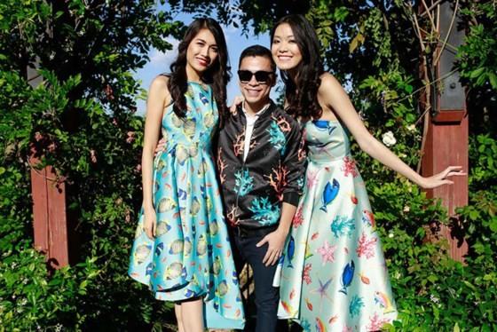 Fashion designer Adrian Anh Tuan