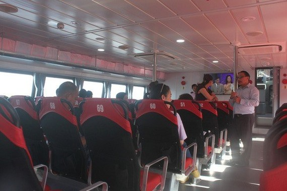 High-speed boats are set to be introduced from HCM City and Vung Tau to Can Gio on December 23. (Photo: nld.com.vn)