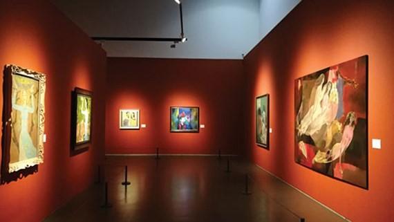 Vietnamese contemporary fine arts presented in China
