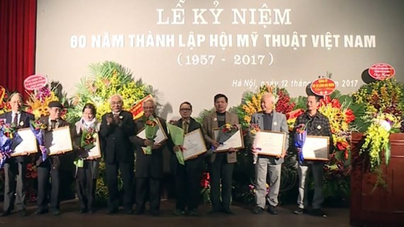 Vietnam Fine Arts Association celebrates its 60th anniversary