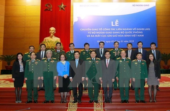 The Vietnam Peacekeeping Department makes its debut on January 5(Source: VNA)