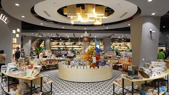 Giant European theme bookstore opens in HCM City