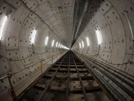 A corner of the underground track (Source: VNA)