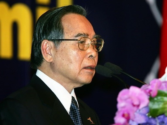 Former Vietnamese Prime Minister Phan Van Khai (Source: VNA)