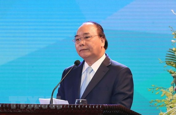Prime Minister Nguyen Xuan Phuc addresses the event (Photo: VNA)