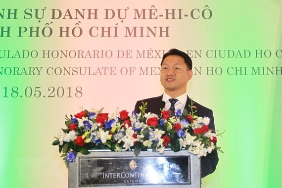 Honorary Consul of Mexico to HCM City Vu Minh Anh (Photo: VNA)