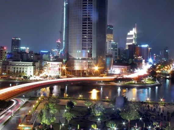 A corner of Ho Chi Minh City - the southern economic hub of Vietnam (Photo: VNA)