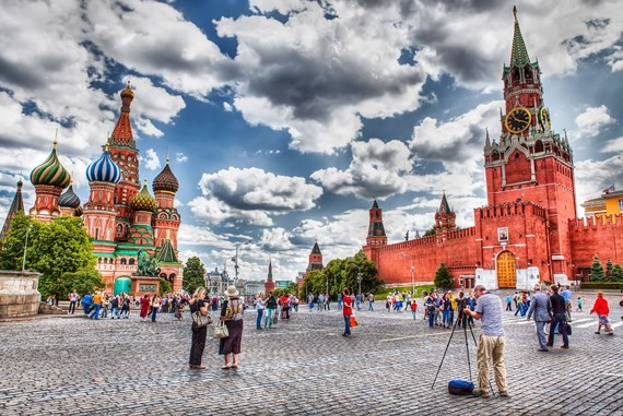 Number of tourists to Russia for World Cup surges