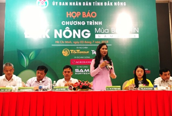 At a press conference of the event  (Photo: baodaknong)