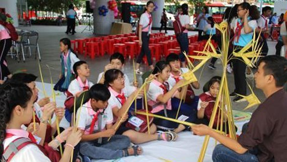 CLV children's camp opens in HCMC